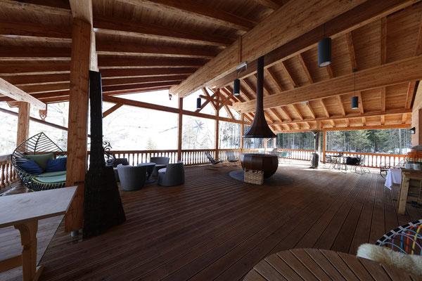 Obere Terrasse Bröselam - Foto: Rita Boden (unbearbeitet, EV±0 aus 5er Belichtungsreihe)