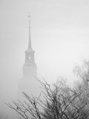 Rebecca Toews (17 Jahre) - Kirche im Nebel (Platz 1 Einzelbilder)