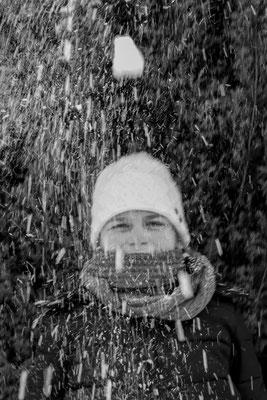 Lisa Scholz (13 Jahre) - Schneefrau