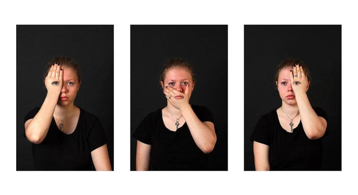 Felix Keil (14 Jahre) - Verdeckt (Thema Bildserie Verrückte Welt - Platz 3)