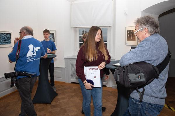 Alina Escher im Interview - Foto: Rita Boden