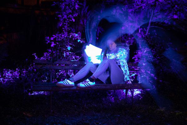 Viel Spass mit UV-Taschenlampen -Foto: Rita Boden