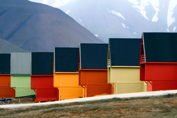 Franz Kramer - Bunte Häuser