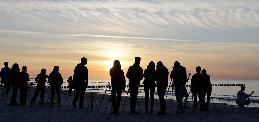Fotografieren am Strand - Foto: Christian Scholz