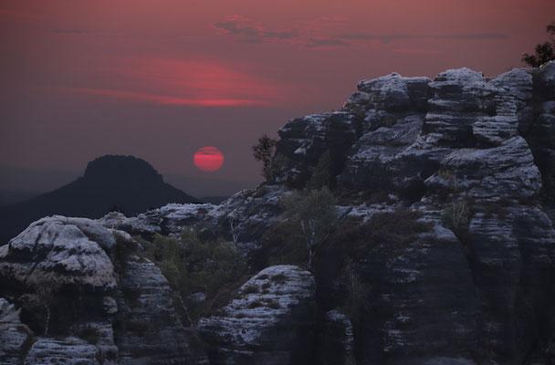 Franz Kramer (16 Jahre) - Sonnenuntergang