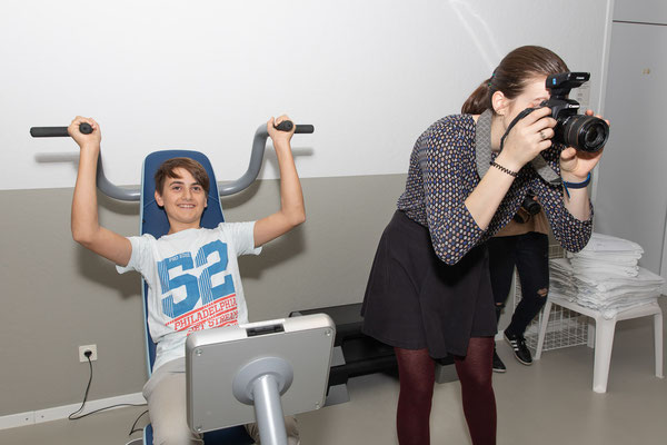 Fotoshooting im Akademiehotel - Foto: Rita Boden