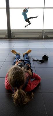 Fotografieren am Flughafen - Foto: Christian Scholz