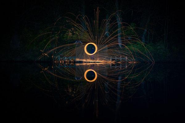 Feuer und Funken - Foto: Rita Boden