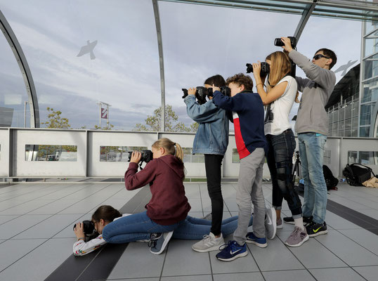 Fotoexkursion Flughafen - Foto: Christian Scholz