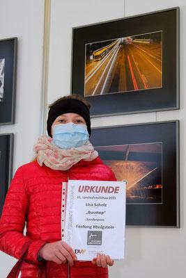 Lisa Scholz mit Sonderpreis (Foto: Klaus Rutloff)