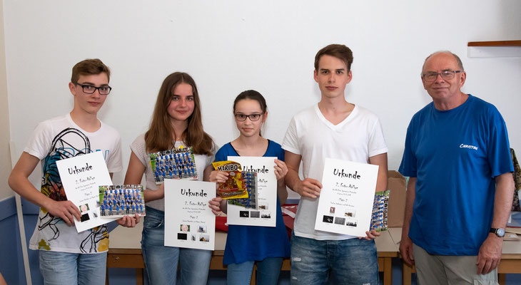 Preisträger der Fotorallye - Foto: Anke Berger
