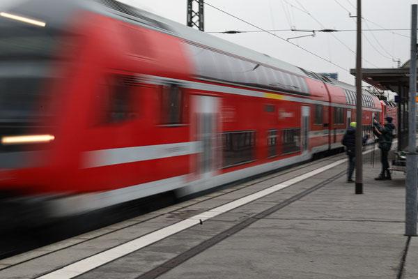 Exkursion Hauptbahnhof - Foto: Christian Scholz