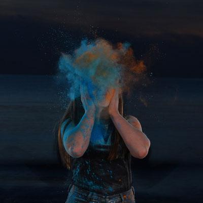 Kai Seidel (15 Jahre) - Farbexplosion (Thema Farbe - Jurry-Endrunde)
