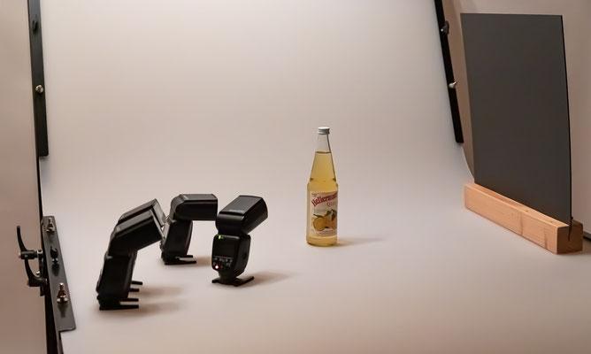 Vorbereitung Fotoshooting - Foto: Rita Boden