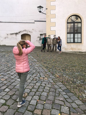 Viele Fotomative auf dem Schloss - Foto: Rita Boden