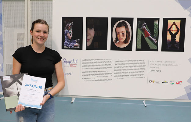 Sonderpreis für Leoni Kipka - Foto: Christian Scholz