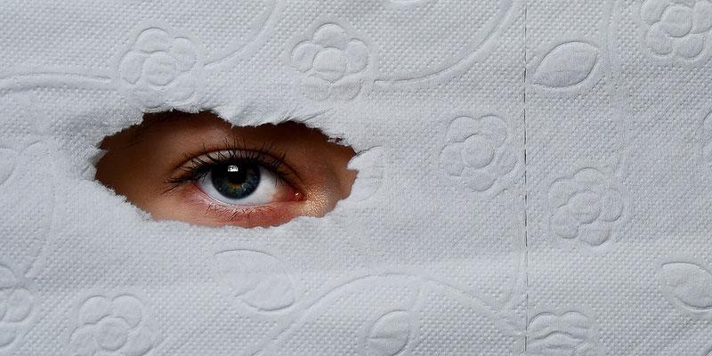 """Thema """"Krankes System - Covid19 und die Folgen"""" - Alina Escher - Einseitig blind (Platz 5, als Serie)"""