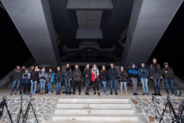 Gruppenbild der Schüler - Foto: Rita Boden