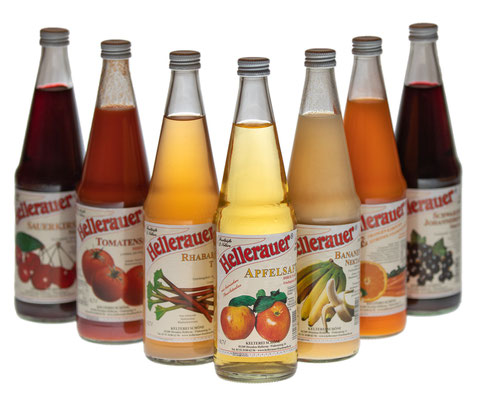 Auswahl von verschiedenen Flaschen - Foto: Rita Boden