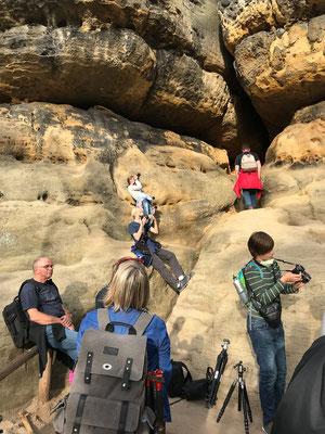 Wanderung auf die Schrammsteinaussicht - Foto: Rita Boden