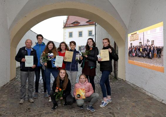 Gruppenbild mit unseren Preisen - Foto: Anke Berger