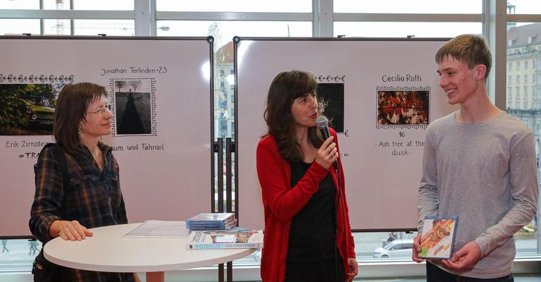 Preisverleihung Fotowettbewerb Zentralbibliothek - Foto: Christian Scholz