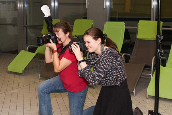 Fotoshooting im Akademiehotel - Foto: Lilly Schönherr