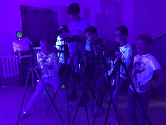 Fotografieren mit UV-Licht - Foto: Rita Boden