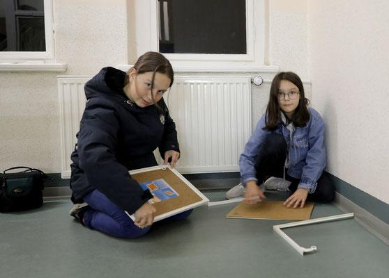 Ausstellungswechsel im Ärztehaus - Foto: Christian Scholz