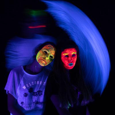 Fotografieren mit UV-Licht - Foto: Nico Boden