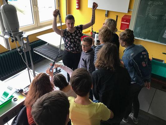 Workshop Filmentwicklung/Dunkelkammer - Foto: Rita Boden