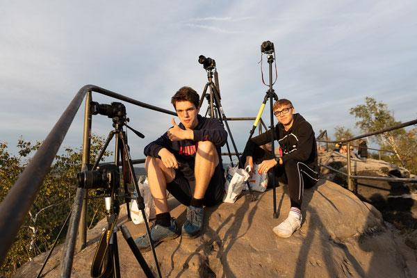 Aussicht auf der Schrammsteinaussicht - Foto: Rita Boden