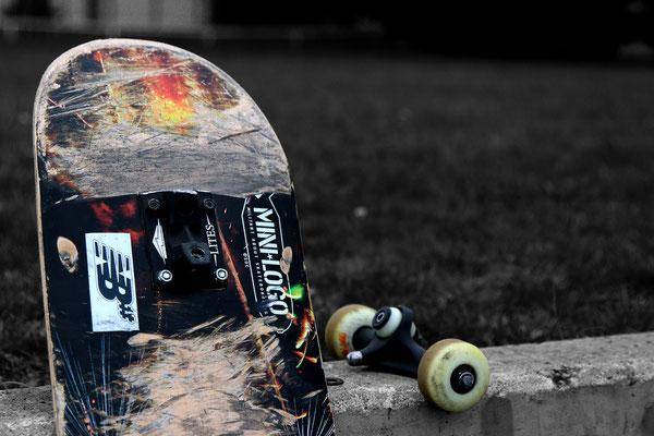 Paul Weinmann - Skateboard (2. Platz)