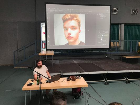 Workshop Bildbearbeitung mit Photoshop - Foto: Rita Boden