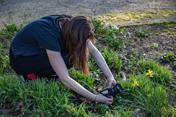 Fotografieren mit den Ochtruper Lichtmalern - Foto: Rita Boden