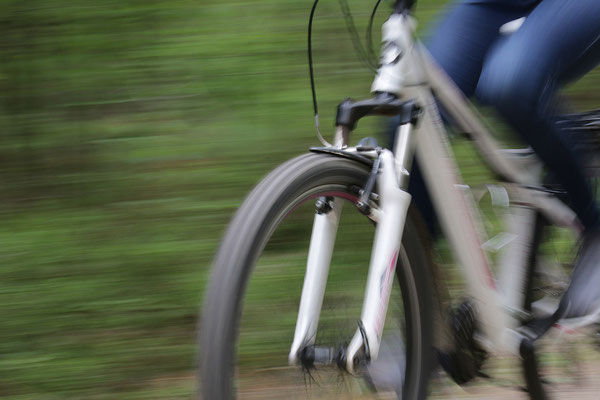 Jennifer Junghans - Fahrrad fahren