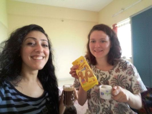 Ägyptischer Kaffee und Deutsche Kekse