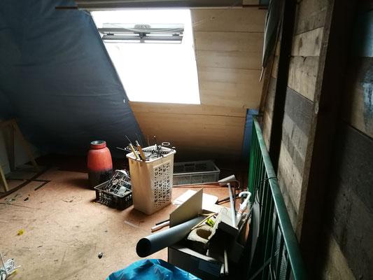 Dachgeschoss vorher