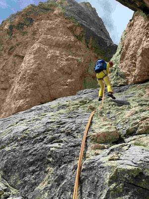 Klettern Dolomiten Bergführer