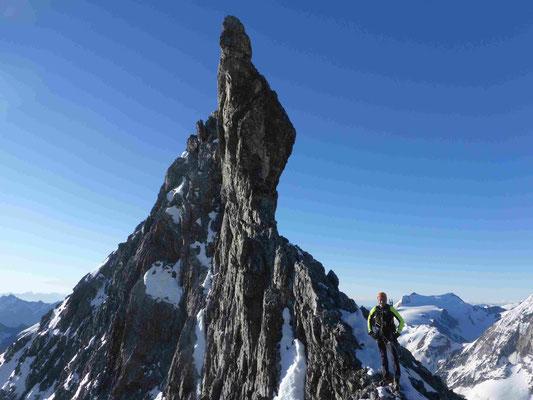 Ortler Hintergrat Bergführer