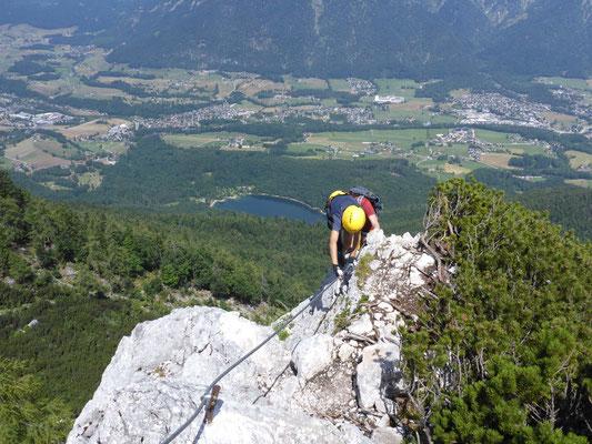 Bergführer Klettersteig Katrin Bad Ischl Klettersteigkurse