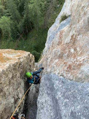 Klettern im Salzkammergut mit Bergführer