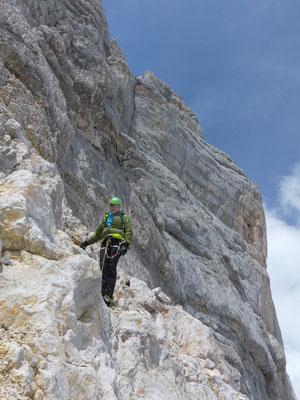 Bergführer Hoher Dachstein Hohes Dirndl Klettern