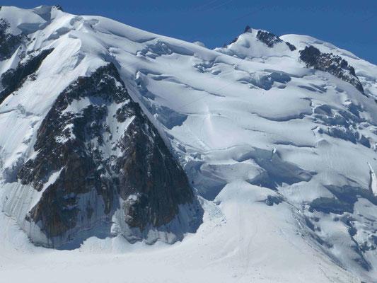 Mont Blanc Überschreitung Bergführer