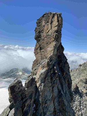 Großglockner Glocknerwand Überschreitung Bergführer