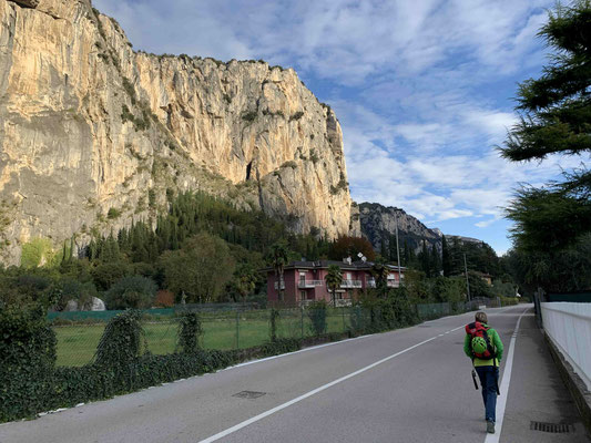 Klettern mit Bergführer in Arco Gardasee