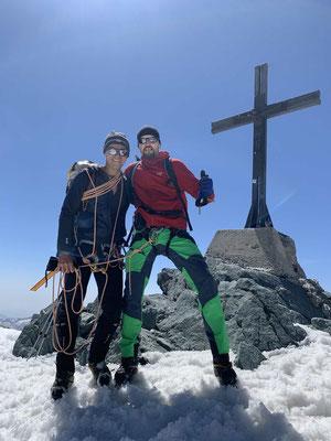 Bergführer Wallis Saas Fee Allalinhorn Weissmies