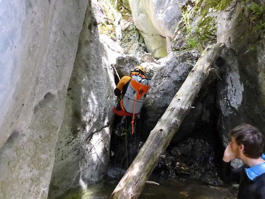 Canyoning Salzkammergut Bad Ischl Hohenzoller Wasserfall