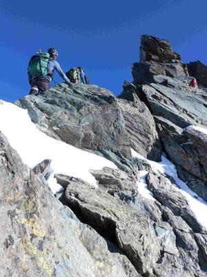 Großglockner Stüdlgrat mit Bergführer