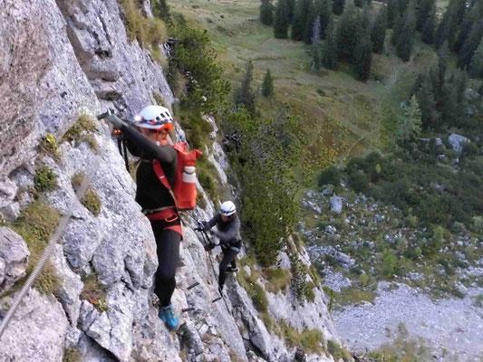 Donnerkogel Klettersteig Bergführer